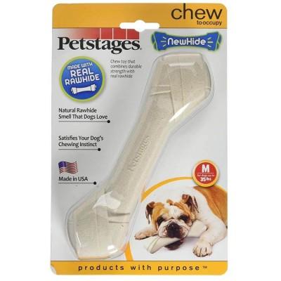 Petstages Newhide Real Rawhide Medium Bone