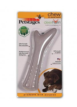 Petstages Deer Horn Chew Dog Toys L 20cm