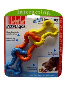 Petstages Mini Rubber Born Tug Toy 15 Cm