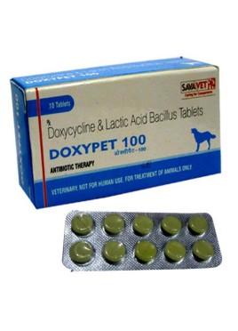 Sava Healthcare Doxycycline Doxypet 100 (10 Tablets)
