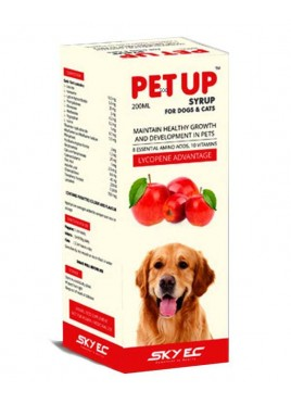 Sky Ec Pet Up Syrup Pet Supplements 200 ml