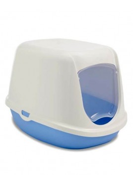 Savic Duchesse Litter Box For Cat And Kitten Blue