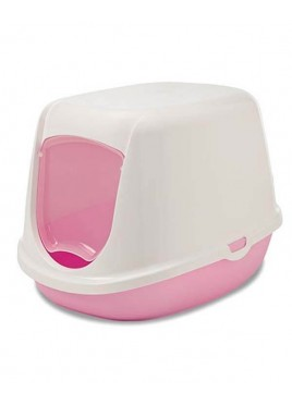 Savic Duchesse Litter Box For Cat And Kitten Baby Pink