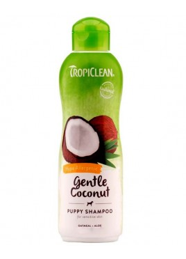TropiClean Gentle Coconut Hypo Allergenic Pet Shampoo 355 ml