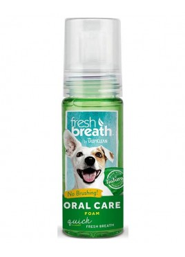 Tropiclean Cleans Teeth And Gums Mint Oral Care Foam 133 Ml