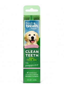 Tropiclean Puppy Clean Teeth Oral Care Gel  59 Ml