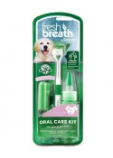 Tropiclean Fresh Breath Puppy Oral Care Kit With Toothbrush 59 Ml