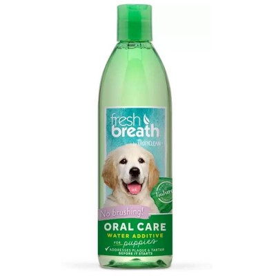Tropiclean Fresh Breath Oral Care Water Additive for Puppies  473 ml
