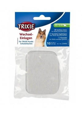 Trixie Assorted Pads for Protective Pants,  SX, S, S-M Pack of 10 pcs