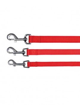 Trixie Classic Lead Nylon Strap Size L – XL Red