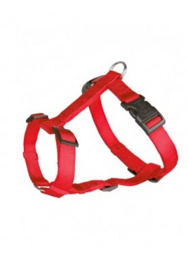 Trixie Classic H-Harness Nylon Strap Fully Adjustable S – M, Red