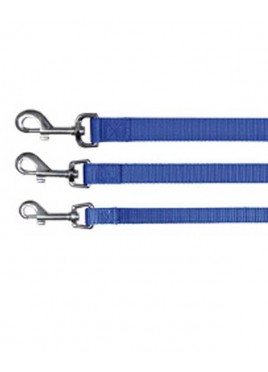 Trixie Classic Lead Nylon Strap Size M  L Blue