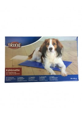 Trixie Germany Home And Travel Cooling Mat Blue 35 x 20 inch