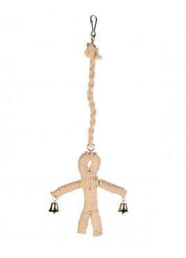 Trixie Sisal Man Natural Birds Toy 41 cm