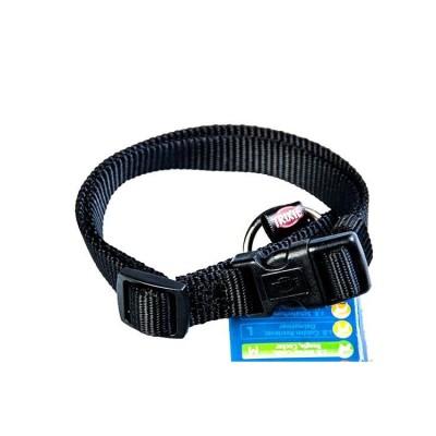Trixie Premium Dog Collar L-XL Black