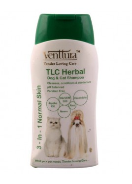 Venttura TLC Herbal Shampoo For Dog and Cat - 200 ml