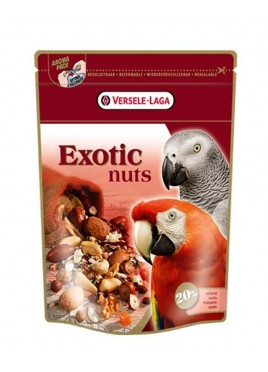 Versele Prestige Premium Parrots Exotic Nuts Mix Bird Food 750gm