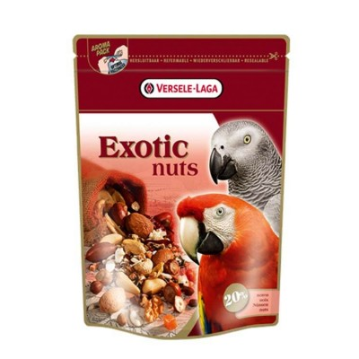 Versele Prestige Premium Parrots Exotic Nuts Mix Bird Food 750gm