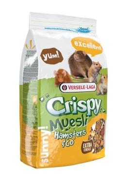 Versele Crispy Muesli hamaster or cocka 1 Kg For Small Pets