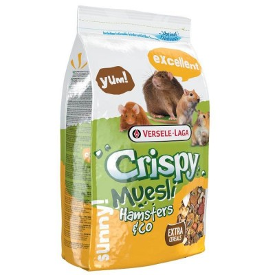 Versele Crispy Muesli hamaster or cocka 1 Kg For Small Pets