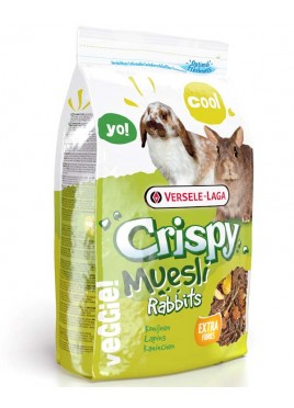 Versele Crispy Muesli Rabbits 1 Kg For Small Pets