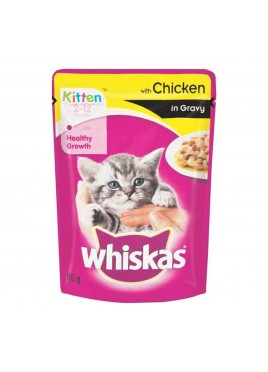 Whiskas Jelly with chicken in gravy 85gm