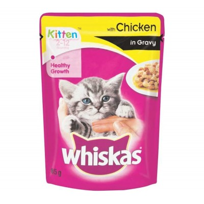 Whiskas Jelly with chicken in gravy 85gm