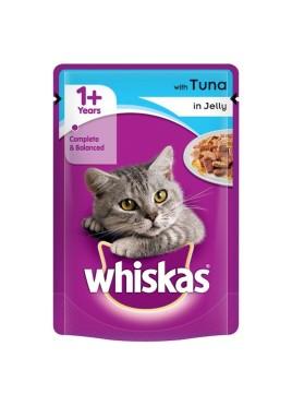 Whiskas Cat Food Tuna in Jelly 85 gm
