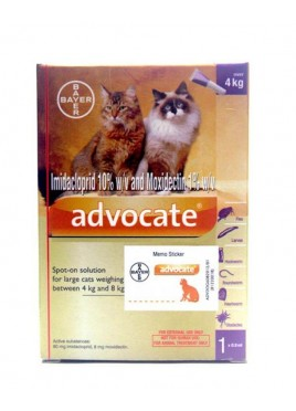 Bayer Advocate Spot-on for Cat 0.8 ml