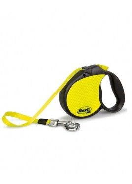 Flexi Neon Reflective Tape Large 5 M Leash for Dog