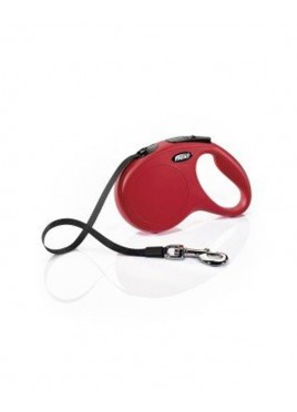 Flexi Fun Red Tape 5m Large Leash for Dog