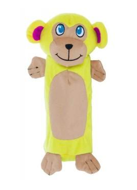 Outward Hound Bottle Gigglers Monkey Dog Toy 26 cm