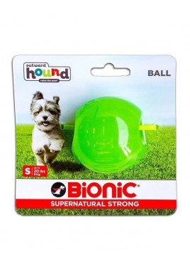 Outward Hound Bionic Opaque Ball Toy Small, Green