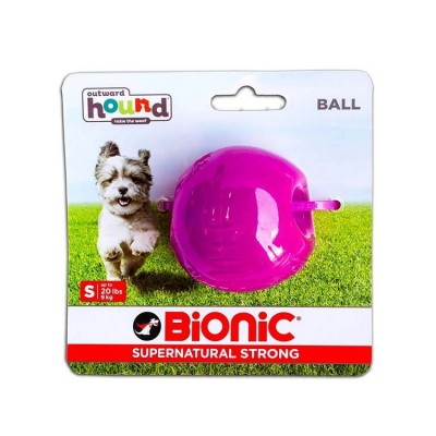 Outward Hound Bionic Opaque Ball Toy Small, Purple