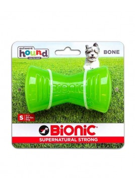 Outward Hound Bionic Opaque Bone Toy Small, Green