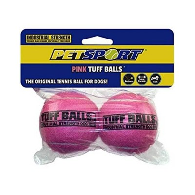 Petsport Tuff Balls Toy Pink 7 cm