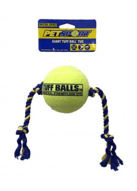 Petsport Giant Tuff  Ball Tug Toy 4 inch
