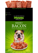 Prama smoked bacon delecacy snack for dogs 70 gm