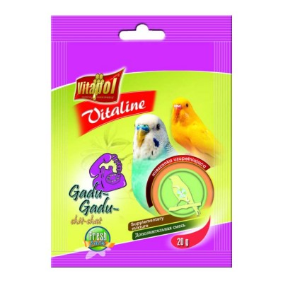 Vitapol Vitaline Chit Chat Bird For Budgie 20gm