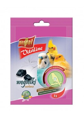Vitapol Vitaline Charcoal 8 Gms For Bird