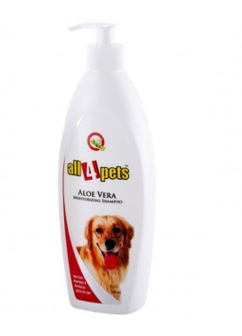 All4pets Aloevera Moisturizing Shampoo 500 ml