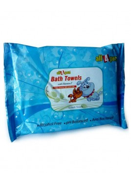 All4pets Bath Towels (10 pcs)