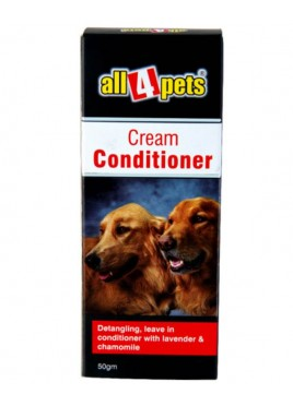 All4pets Cream Conditioner (50gm)