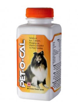 All4pets Pet-O-Cal 60 tablets