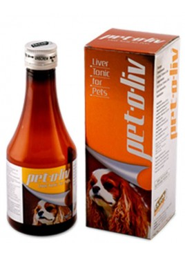 All4pets Pet-O-Liv Syrup 200 ml