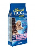 Monge Special Dog Puppy and Junior chicken and Rice 15kg