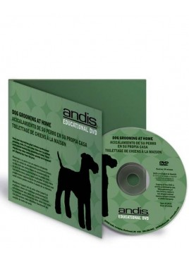 Andis - Dog Grooming at Home DVD