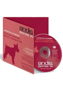 Andis Clipping Tips and Techniques DVD