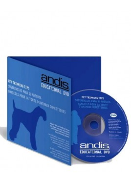 Andis Pet Trimming Tips - Educational DVD