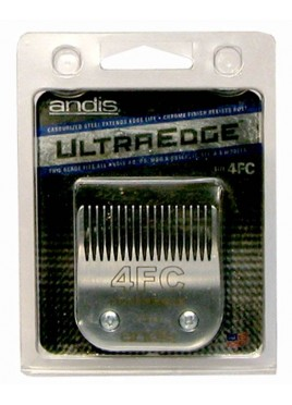 Andis 4FC Chrome Plated Clipper Carbon-Edged Blade Set